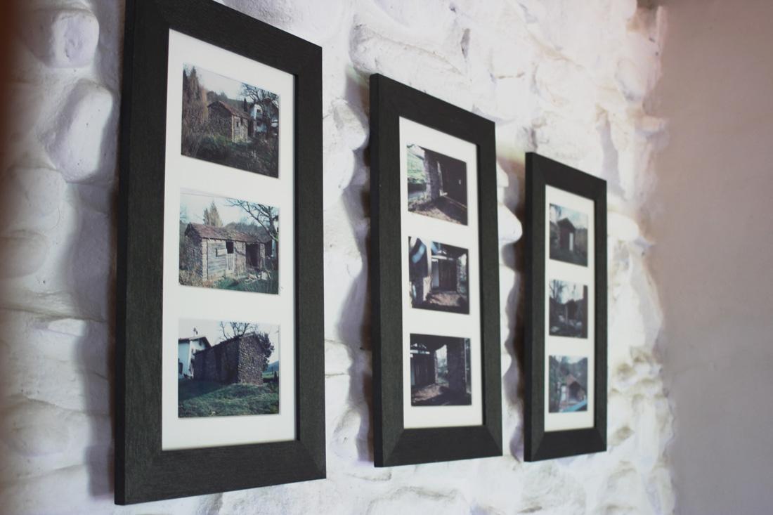 triptyque photos maison