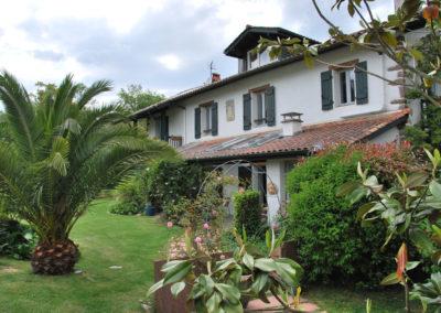 Facade maison Aretxola