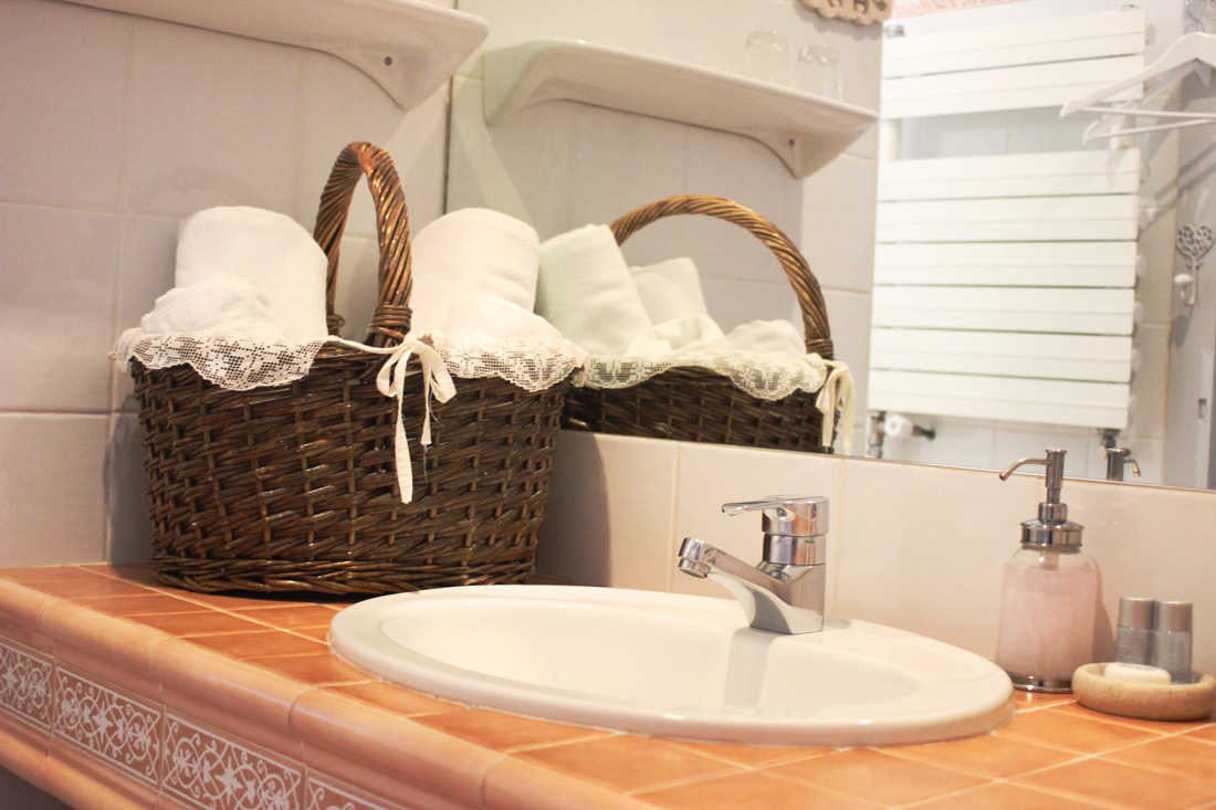 Salle de bain Roseraie